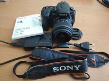 Sony Alpha a300 10.2MP Digital SLR Camera - Black Kit SAL1855 Lens
