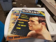 Two Boxing Illustrated & Wrestling News Magazines - February & June 1960