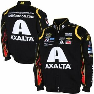 Nascar Jeff Gordon Axalta Black Cotton Jacket JH Design New