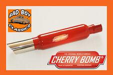 Cherry Bomb ® Silenciador Caja posterior Oval salida Cola Bomba Mg Midget / Classic Mini