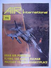 AIR International - Vol 13 - No.2, August 1977 - Fairey Fulmar I, HAL HPT-32