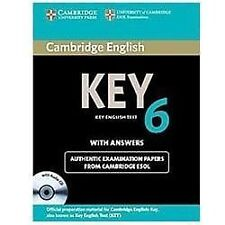 Cambridge English Key 6 Self-Study Pack (student's Book With Answers And Audi...