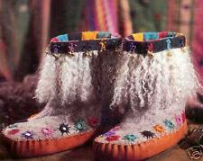 Spin-off magazine fall 1995 Felted Boots, slipper-socks.