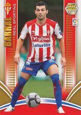 N°252 DAVID BARRAL TORRES # SPORTING GIJON CARD PANINI MEGA CRACKS LIGA 2010
