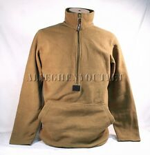 USMC POLARTEC 100 FLEECE 1/2 Zip PULLOVER JACKET Coat Coyote Brown Medium EXC