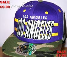 LA baseball cap, los angeles camouflage snapback urban bling hip hop hats fresh