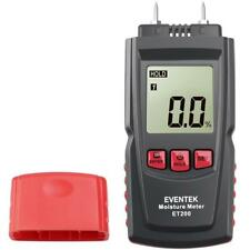 Moisture meter tester Digital detector Humidity measuring Wood/Building material