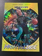 Jayson Tatum 2019-20 Panini NBA Hoops High Voltage Boston Celtics SP 🔥🔥📈