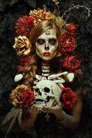 FLORES DE LA MUERTE - BENITO ART POSTER 24x36 - 51477