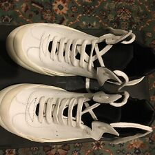 CINZIA ARAIA Leather Men's  White Sneakers Size 40 UK 6 US 7  Lace Up Closure
