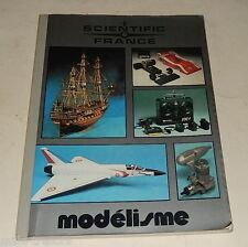 Superbe CATALOGUE Modélisme SCIENTIFIC FRANCE de 244 pages Aviation Bateau Auto