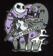 Nightmare Before Christmas Jack Skellington Man of Your Screams Disney Pin 92962