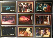 1991 Impel Star Trek 310 Base Card Set Featuring TOS and The Next Generation