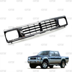 Chrome Grille Grill Replace For Mitsubishi L200 Cyclone Mighty Max 1986 1994