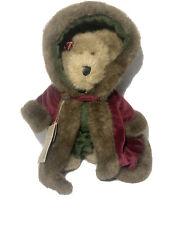 "Boyds Mrs. Maybeary Teddy Bear In Fancy Red Robe 10"" Plush Stuffed Toy New"
