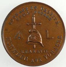 France 1848 REVOLUTION Liberty cap and sword de Saulcy 51-2 (v)