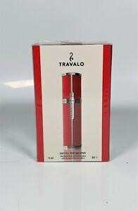 Travalo Milano Easy Fill Perfume Spray 5ml red New Sealed