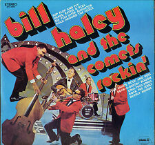 "BILL HALEY & THE COMETS ""ROCKIN'"" ROCK & ROLL 70'S USA LP PICKWICK 3256"
