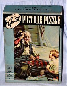 "Vintage Guild Jigsaw Picture Puzzle No. 2900,""Stumped, By Gum!"" - Complete"