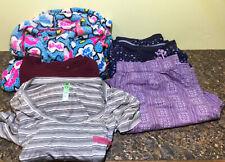 Lot of 5 Women, House Coat, Pajamas, Nightshirt, Lounge Pants, Sweatshirt Sz. M