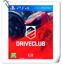 PS4 DRIVECLUB SONY PlayStation SCE Racing Games