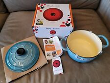 Le Creuset Disney Mickey 90th Anniversary Caribbean 2 Qt., Dutch Oven