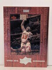 1999 MICHAEL JORDAN Upper Deck Remembers Athlete Of The Century #UD7. Chicago...