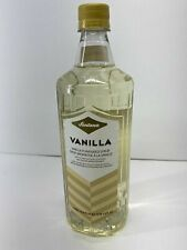 Fontana Starbucks Flavored Syrup's 1 Liter Bottles 8/20 Peach Vanilla Sugar