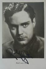 Rolf von Goth (1906-1981) Schauspieler - original-signiertes Foto
