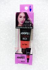 Mistine JOOPS!! COLOR RICH Lipstick Tube Liquid Lip #06 Orange Nude Natty 8g