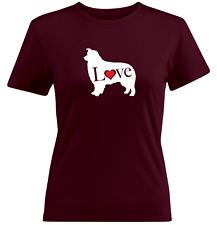 Love Australian Shepherd Dog Juniors Tee T-Shirt Doggy Pet Gift Shiloh Shepherd