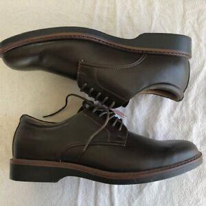 Dexter Comfort Corey Mens Oxford Leather Dress Shoes Lace Up Brown 145506 Sz 13
