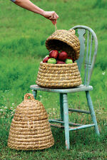 Bee Skep Basket Set of 2 Handmade Baskets