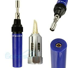 1300℃ Gas Blow Butane Torch Soldering Solder Pen Iron Welding Burner Cordless