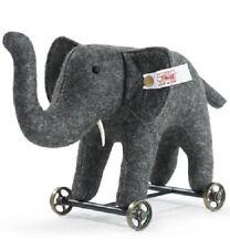 "Save $46! ELEPHANT ON WHEELS 2004 Steiff LtdEd 5"" x 8"" Wool Felt -  420412 NEW!"