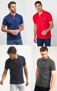 Gant Men Short Sleeve Cotton Pique Jersey Polo Shirt top T shirt S M L XL 2XL