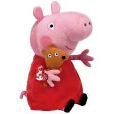 "TY PEPPA PIG PEPPA PELUCHE 20 CM 8"" ORIGINALE TY PLUSH 46128"