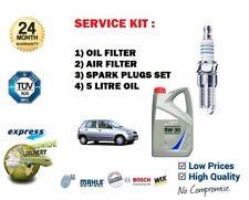 FOR SUZUKI ALTO 1.1i 2002-2006 SERVICE KIT OIL AIR FILTER SET + PLUGS SET + OIL
