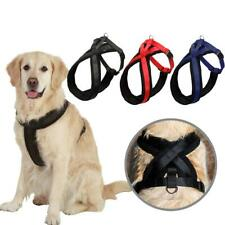 Large Pet Dog Walking Harness Adjustable Strap Belt with Lead D-ring Size S-XL