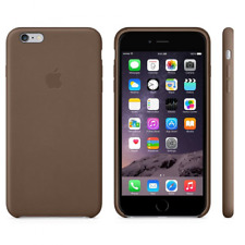 original Apple iPhone 6s PLUS / iPhone 6 PLUS echt Leder Cover braun