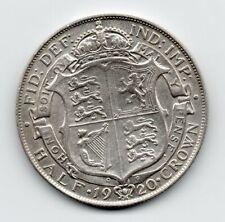 Great Britain - Engeland - 1/2 Crown 1920