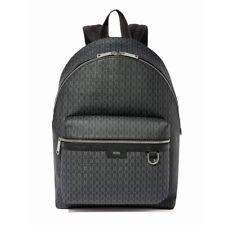 Hugo Boss Metropole Monogram-Print Backpack in Coated Italian Fabric