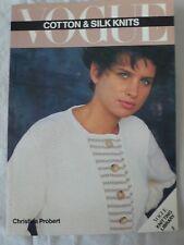 Vintage VOGUE coton & soie KNITS Tricot magazine