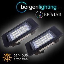 FOR BMW X1 E84 X5 E70 X6 E71 24 LED NUMBER PLATE LIGHT LAMP PAIR