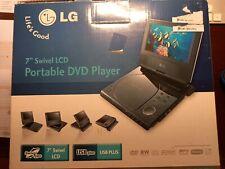 Neu, originalverpackt, portable DVD Player, LG 7