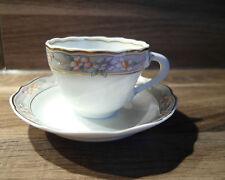 Espressotasse mit Untertasse Hutschenreuther M. Theresia Neu