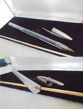 BIC PENNA SFERA IN ARGENTO 925 E PLASTICA TRASPARENTE Silver Ball Pen