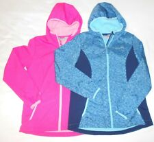Two Girls Free Country Flare Hooded Zip Jackets Sz 14-16 Water/Wind Resistant
