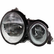 Headlight Right Mercedes E-Class W210 Year 95-99 H7 +H7 Incl. Pneumatic Lwr