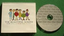 The Beautiful South How Long's A Tear Take / Perfect 10 Acoustic CD Single